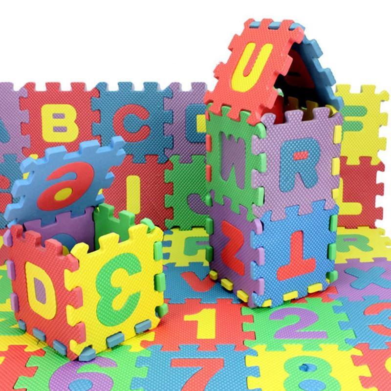 Alphanumeric New Puzzle Mat For Kids Educational Learning Floor Mat For Children