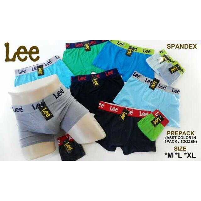 Super Soft Cotton Lee Boxer Brief For Men(6pcs Per Pack) By Zhian Shop.