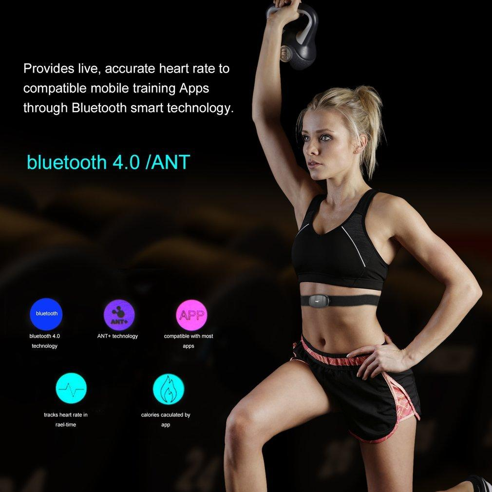 05f103bfbc9d8 ELEC Smart Bluetooth V4.0 Fitness Wireless Heart Rate Monitor Sensor Chest  Strap - intl