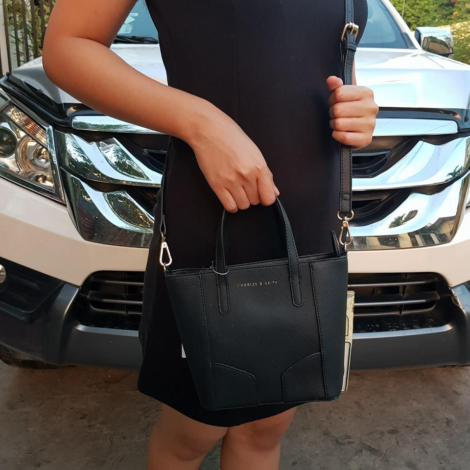 Buy Sell Cheapest Charles Keith Tote Best Quality Product Deals Ampamp Mini Messenger Sling Bag Black