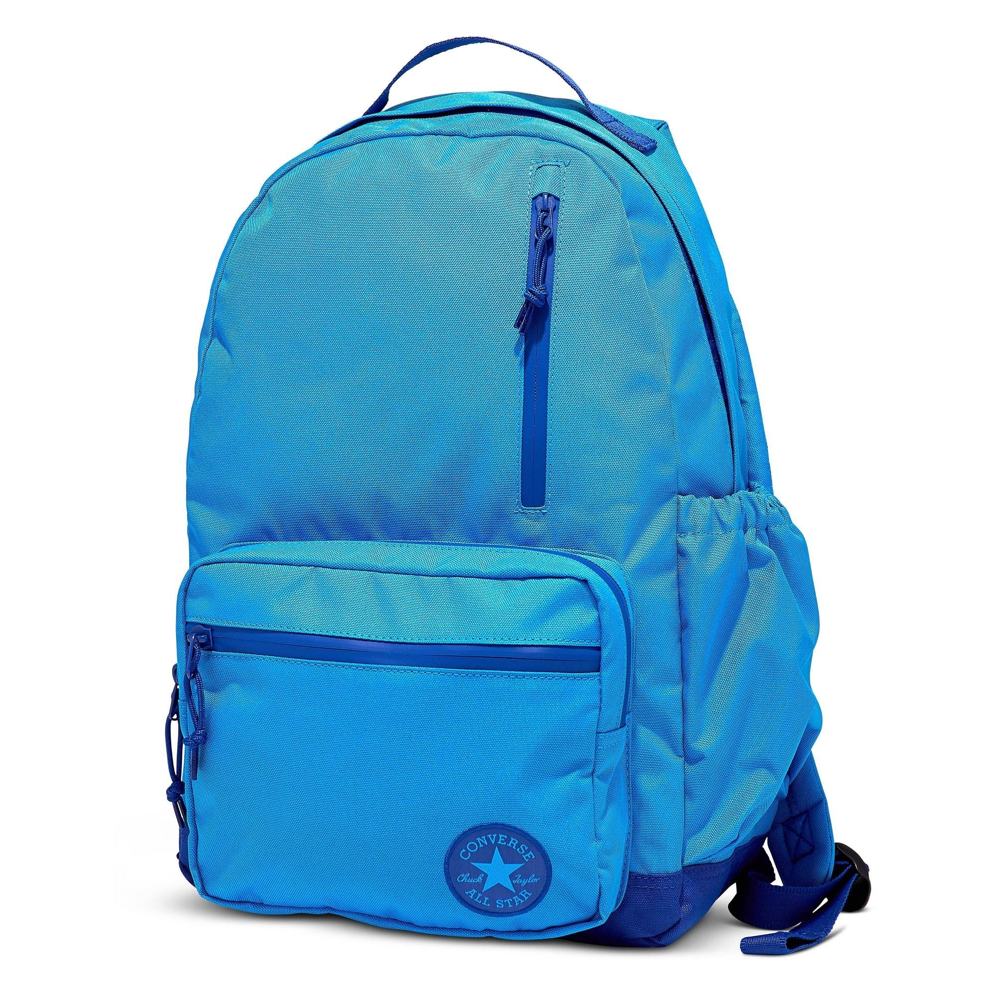 58faa14490 CONVERSE GO BACKPACK - BLUE HERO CONVERSE BLUE - 956448 - 10006930-A05