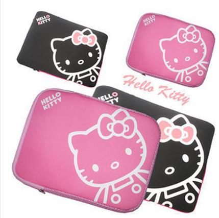 Hello Kitty Laptop Sleeve 13 14 15.6-Inch Cartoon Pink Hand Inner Package Waterproof By Taobao Collection.