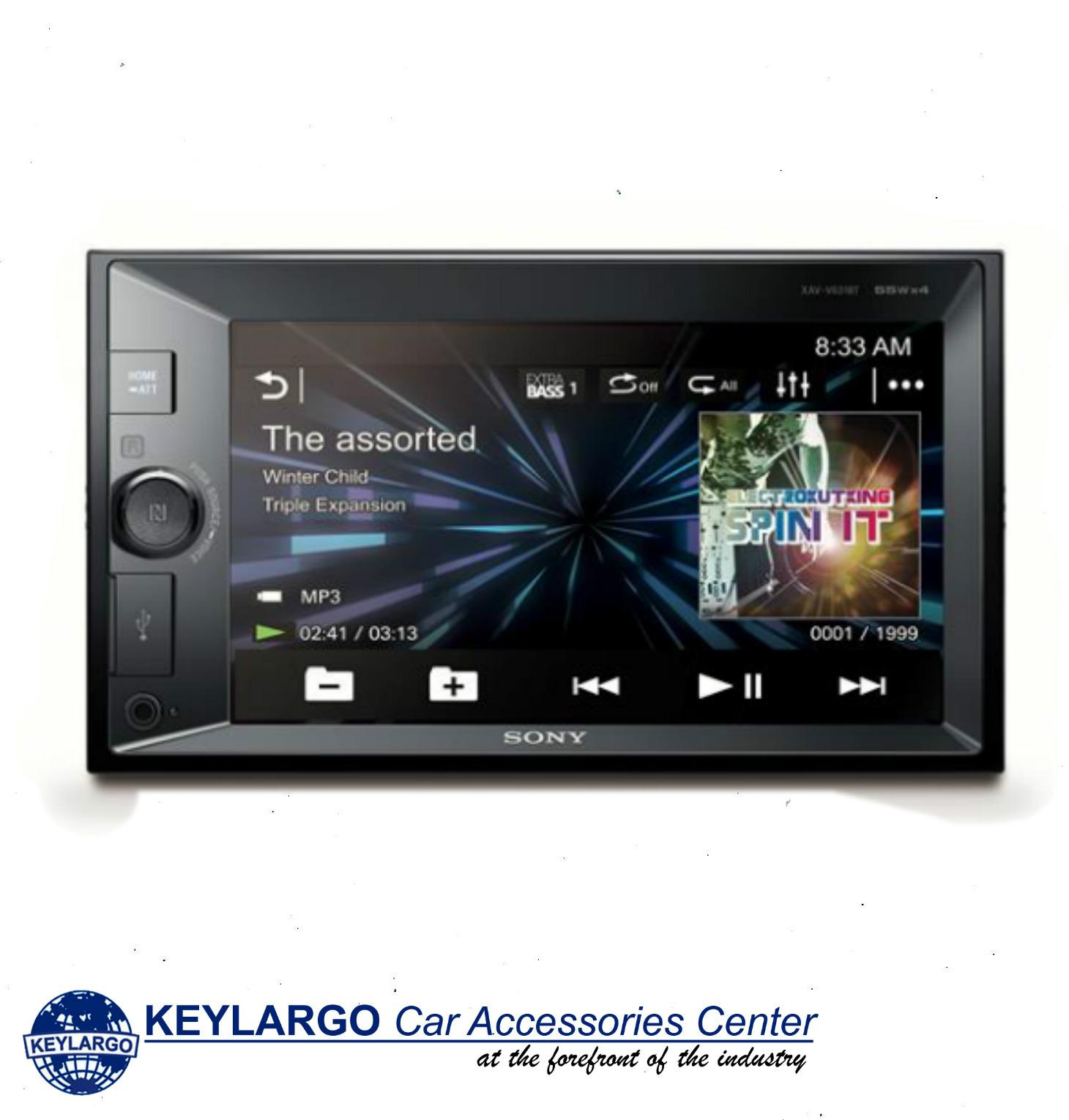 Keylargo SONY XAV-V631BT TOUCH SCREEN MEDIA RECEIVER WITH BLUETOOTH