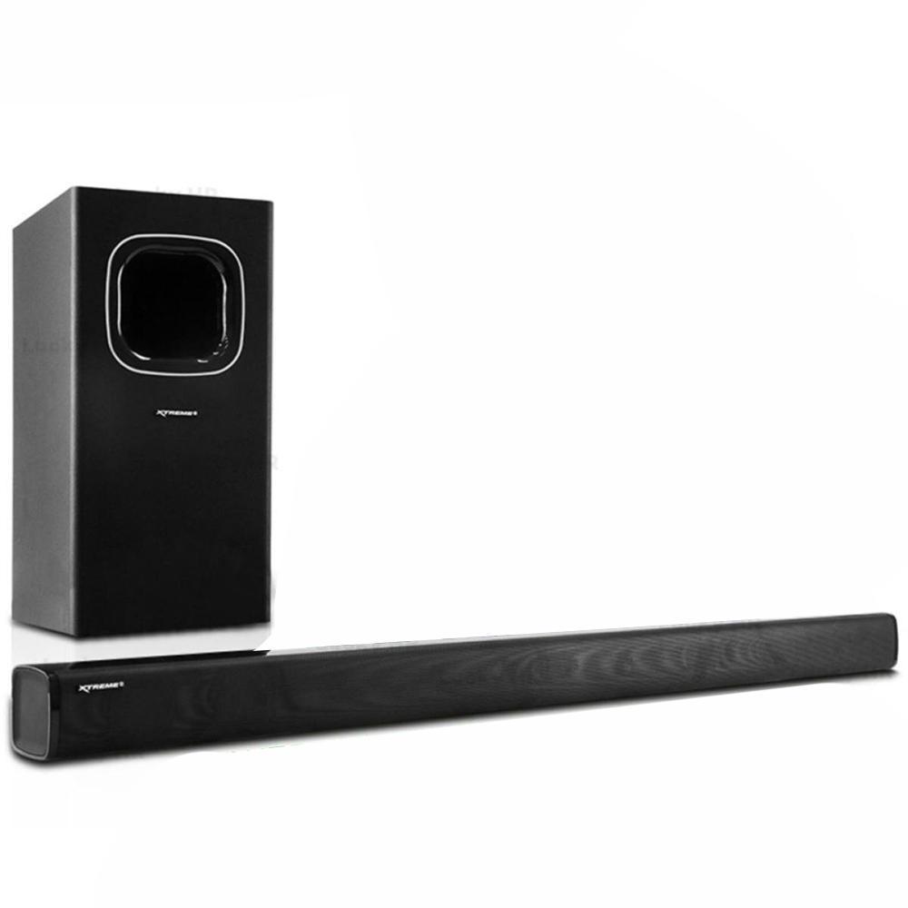 Xtreme XP-8800 2 1CH Soundbar Speaker System & Sub-Woofer (Black)