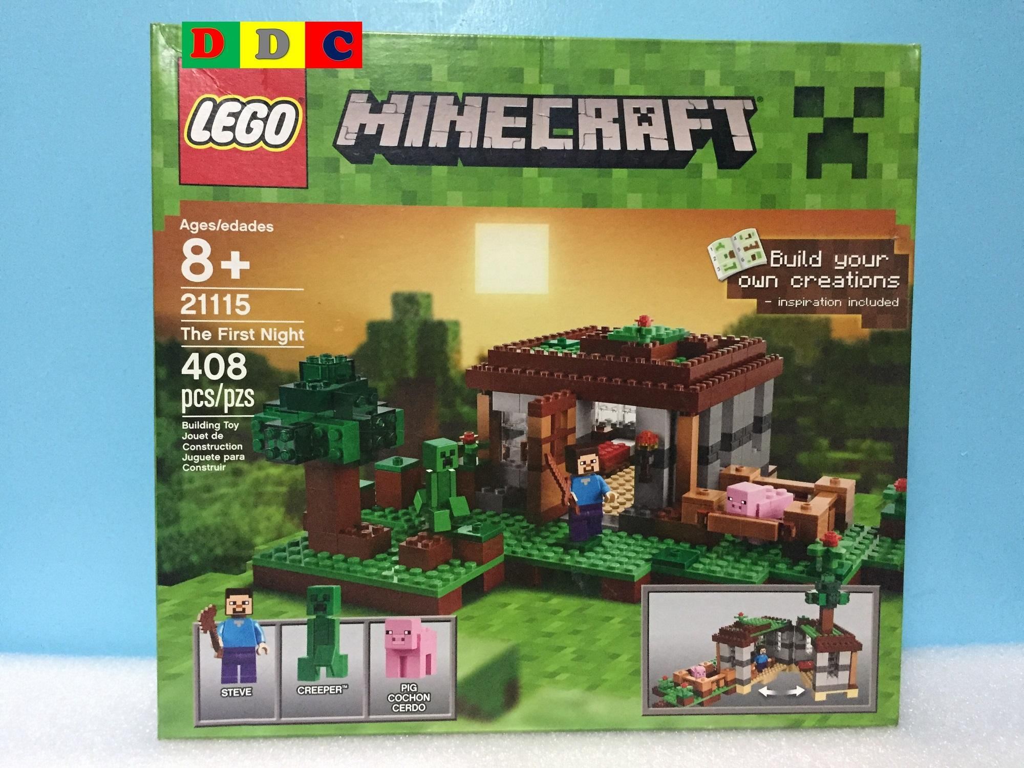 Lego Philippines Price List Building Block Toys For Sale Minecraft Assembling Toy 21115 The First Night