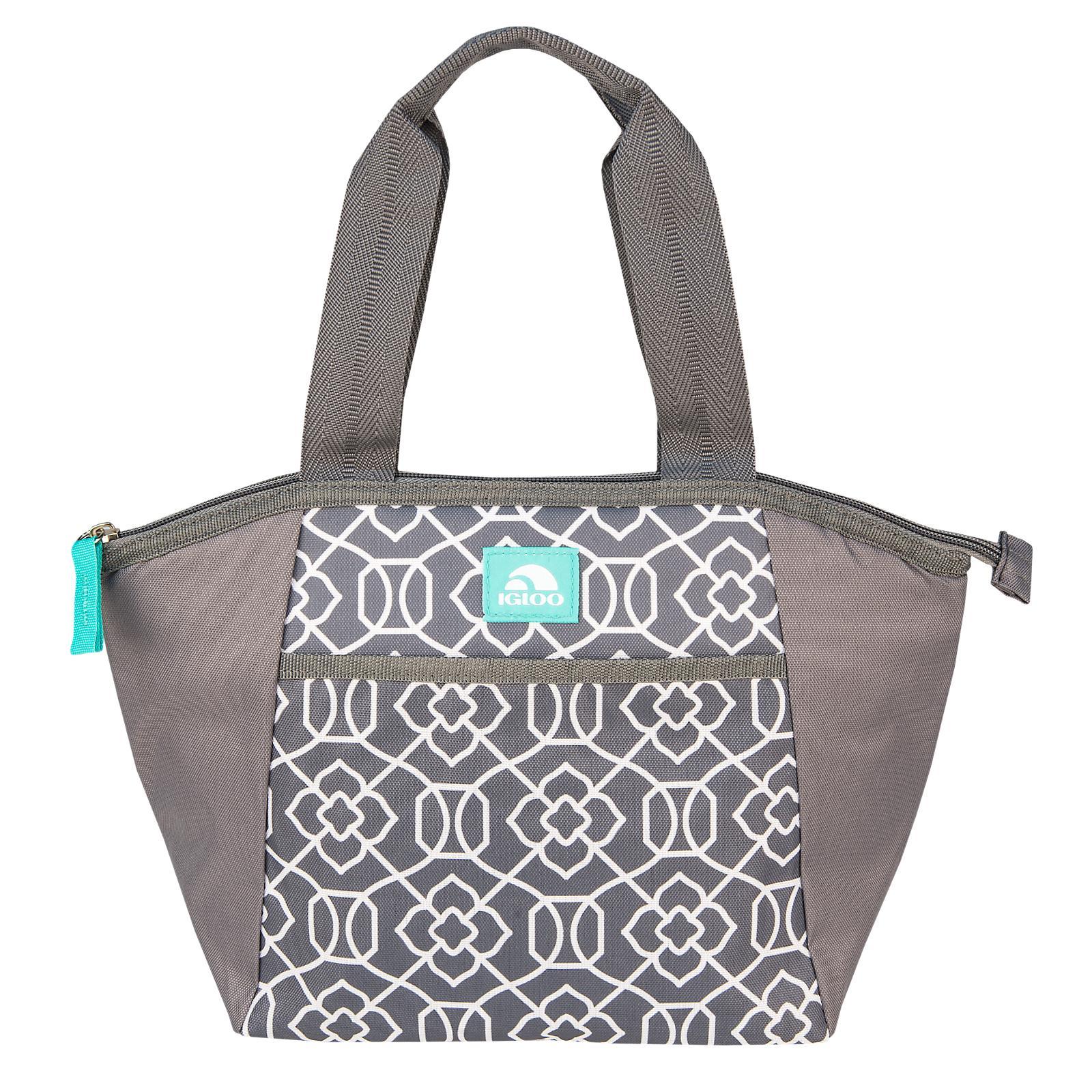 29de666e3f1 Igloo Lattice Mini Essential Tote Lunch Bag Gray