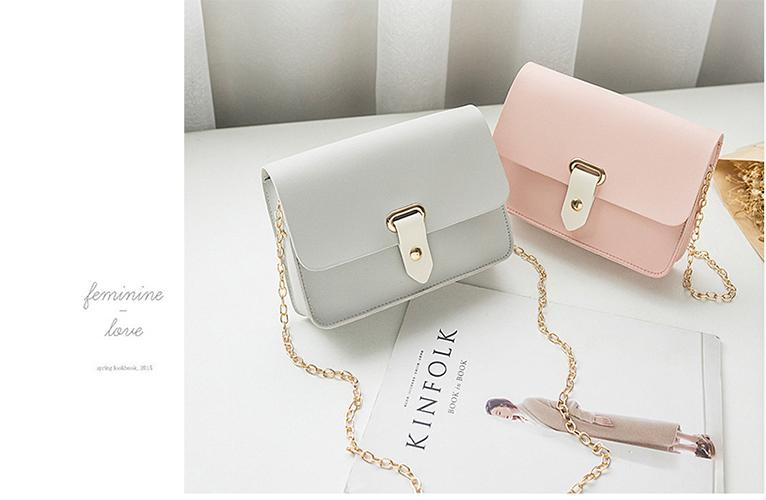 JY. Ladies Elegant Simple Korean Trendy Sling Bag