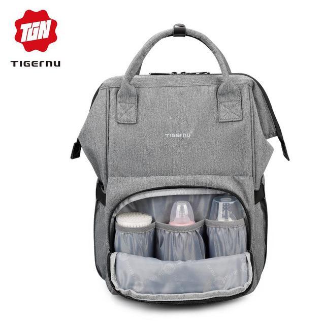 b589fbc82d67fa TIGERNU 2018 New Style Baby Diaper Bag USB Charging Travel Mom Backpack.3358