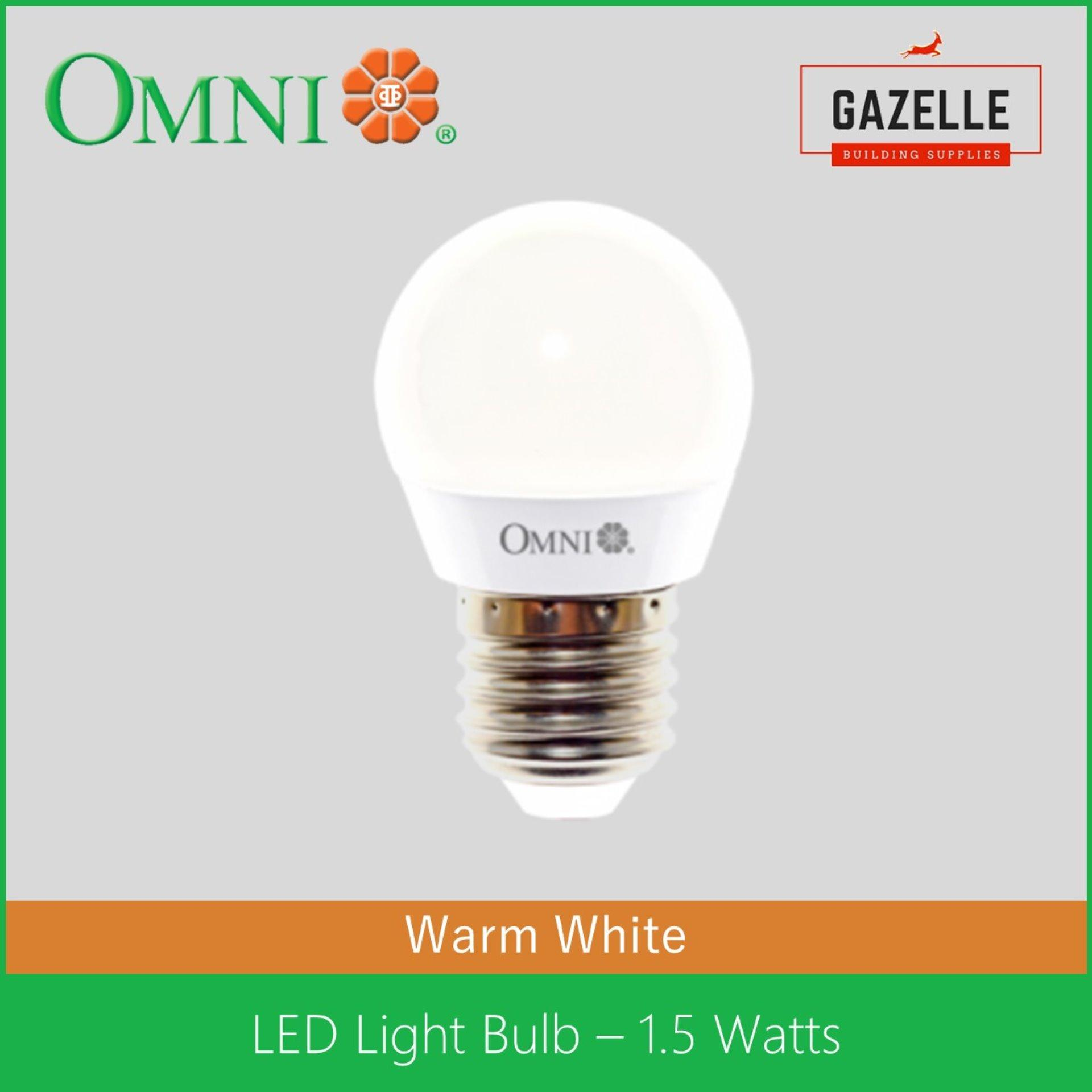 Omni Philippines Price List Light Fan Lamp Bulb Wires Fluorescent Lighting Fixture Wiring Installation 1 Led Lite Warm White 15 Watts