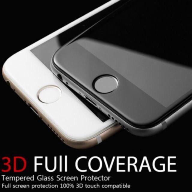 BLACK Color Soft Edge 3D Iphone 6/6s 7 8 x Plus 7plus 8plus 6splus