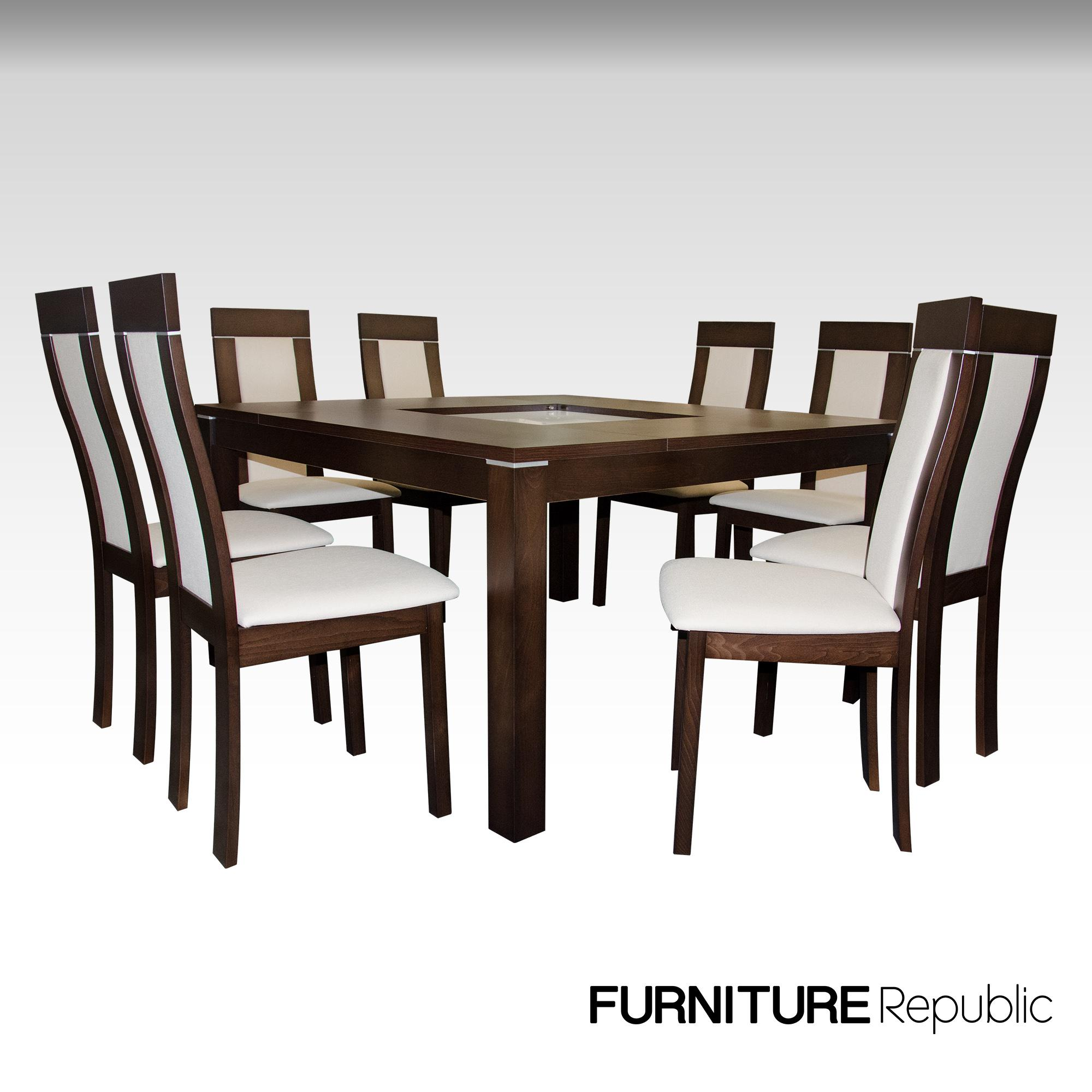 Furniture Republic Tempered Dining Set FDSTG49208S (8-Seater) c8f5dc177f