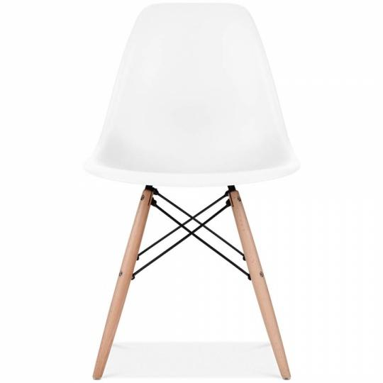 Eames Inpired Home & Office Modern Chair (white) By Dial A Door.
