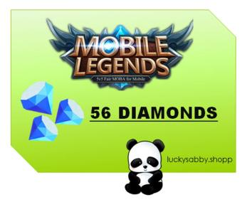 MOBILE LEGENDS 56 DIAMONDS