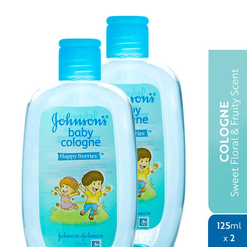 Johnsons Baby Cologne Happy Berries 125ml X 2 By Johnson & Johnson Ph Official Store.