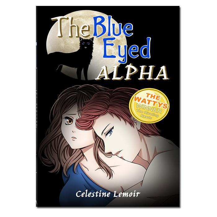 The Blue-Eyed Alpha Wattpad Book - Tagalog Fantasy Romance