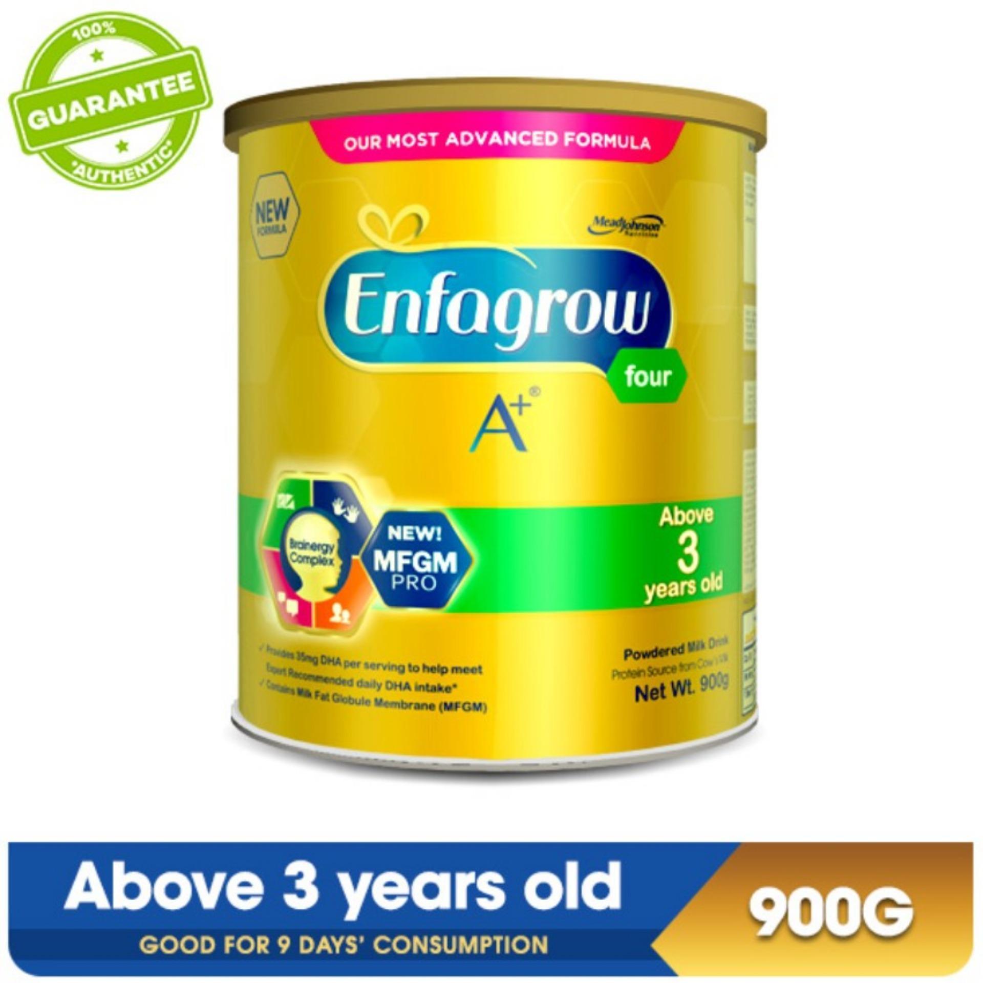 Enfagrow Philippines Price List Powdered Milk Drink For A Plus 3 1800 Gram Vanilla Box Four Years Old 900g