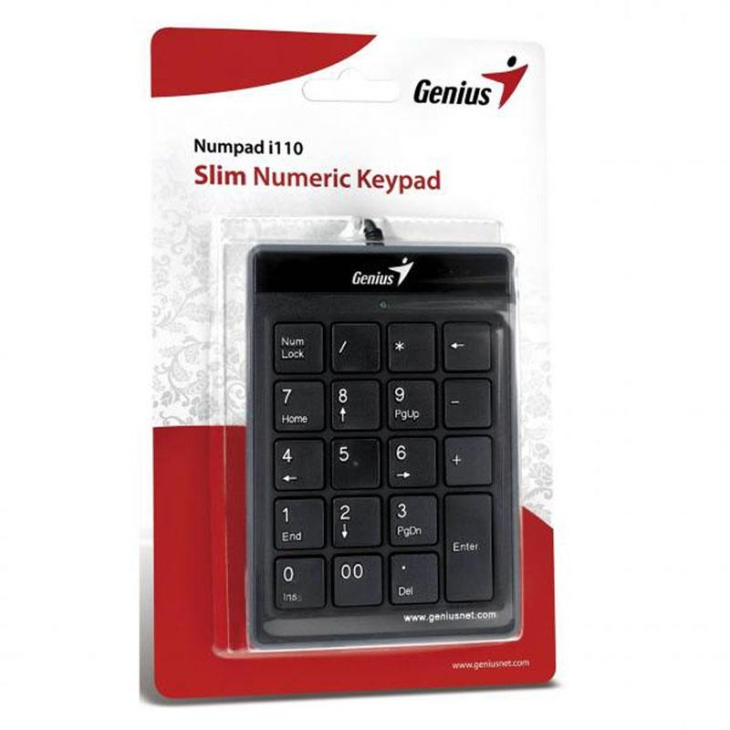 Genius Numpad i110 Numeric Keypad Mac
