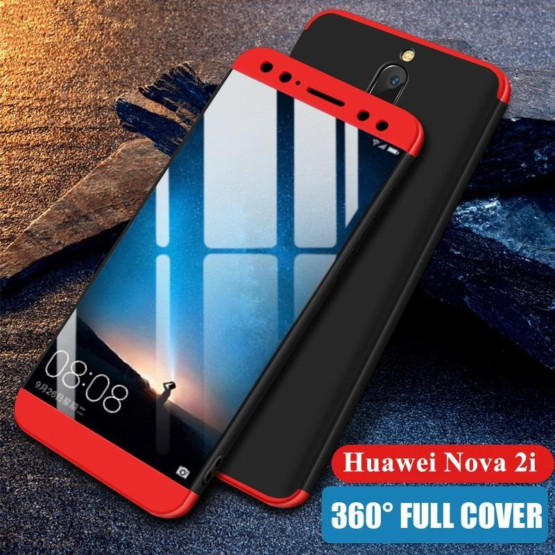 outlet store sale 06f6a 945a1 Huawei Nova 2i Case 360 Full Body Protection Hard Matte PC Cover