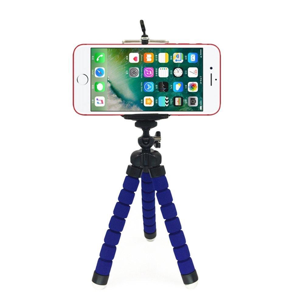 845955330686c9 Mini Flexible Sponge Octopus Tripod Portable Phone Camera Holder Bracket