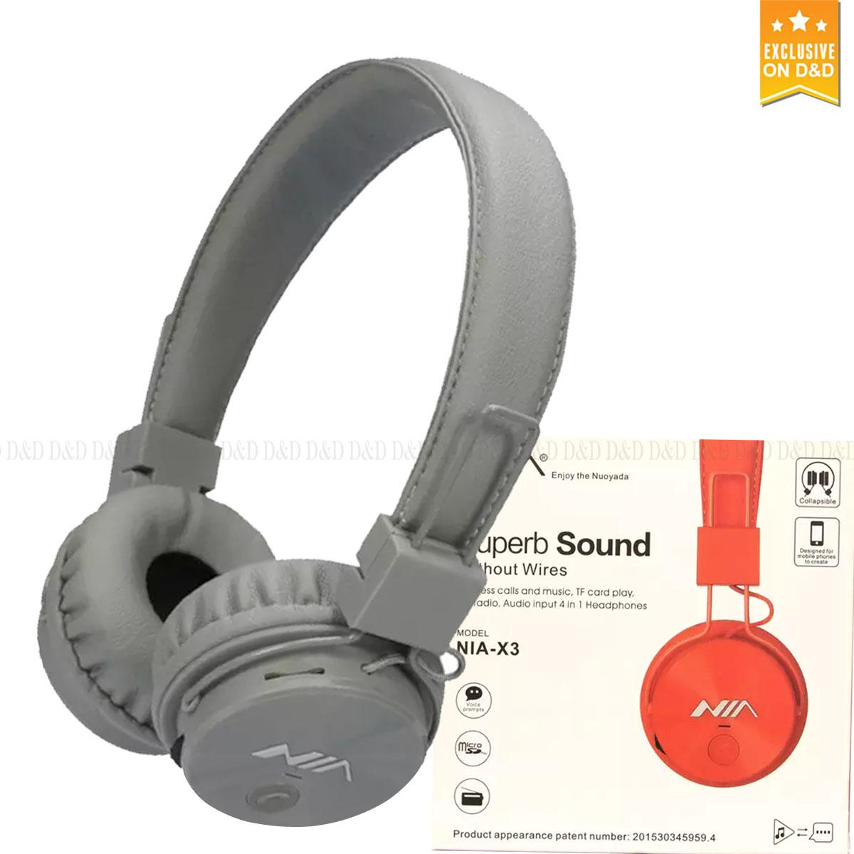 Speaker For Sale Bluetooth Prices Brands Specs In Nubwo Headshet Stereo No040 Original Nia X3 Wireless Headphones Foldable Sport Headsets With Mic Support Tf Card