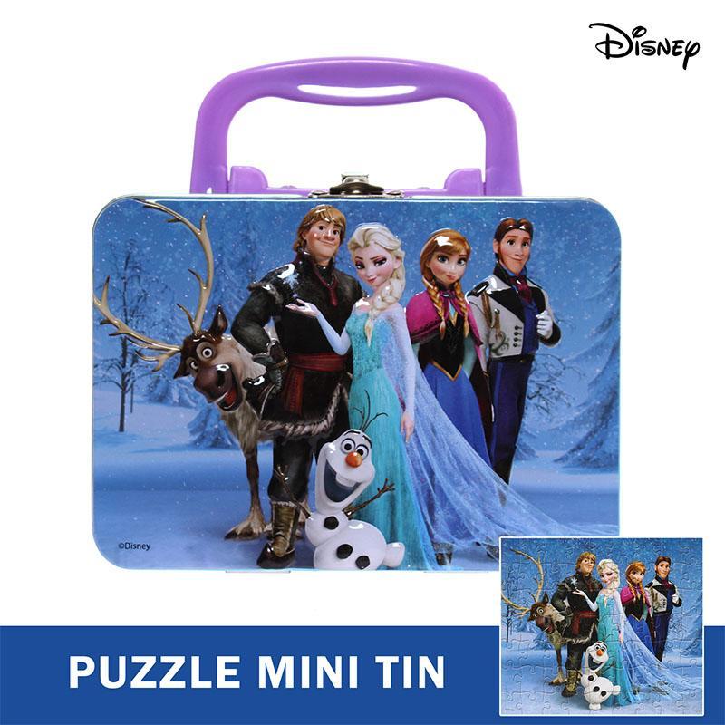Disney Frozen Lenticular Puzzle Mini Tin with Handle