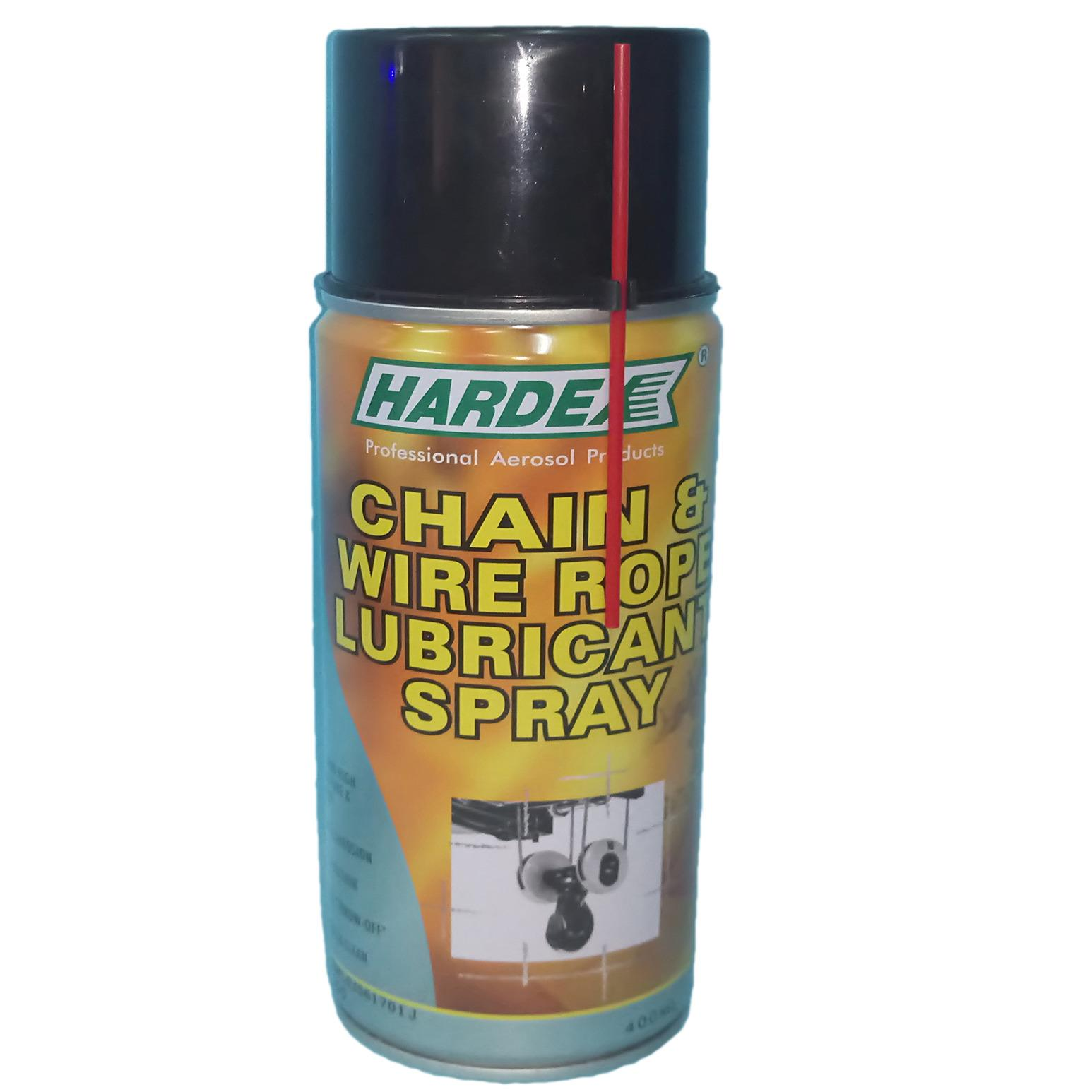 The cheapest price Hardex chain and wire rope lubricant spray 1pcs ...