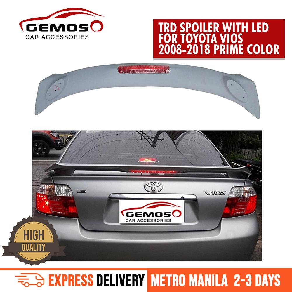 Exterior Parts For Elantra Spoiler 2016-2018 Led Light Abs Material Car Rear Wing Primer Color Rear Spoiler For Hyundai Elantra Spoiler Grade Products According To Quality