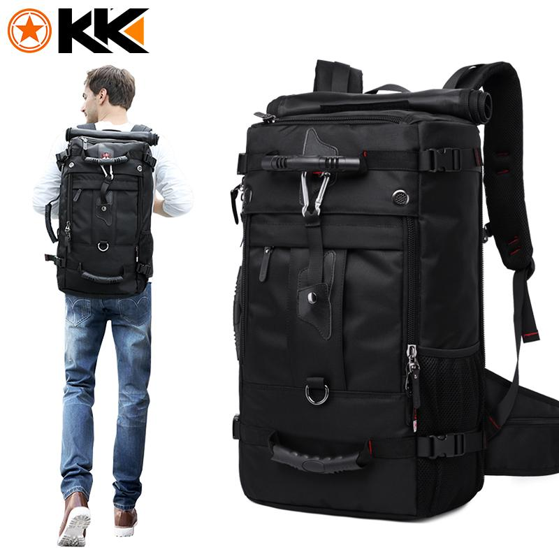 Kaka Huge Capacity Travel Laptop Backpack Mountaineering Multifunction Luggage Bags By Finelife.