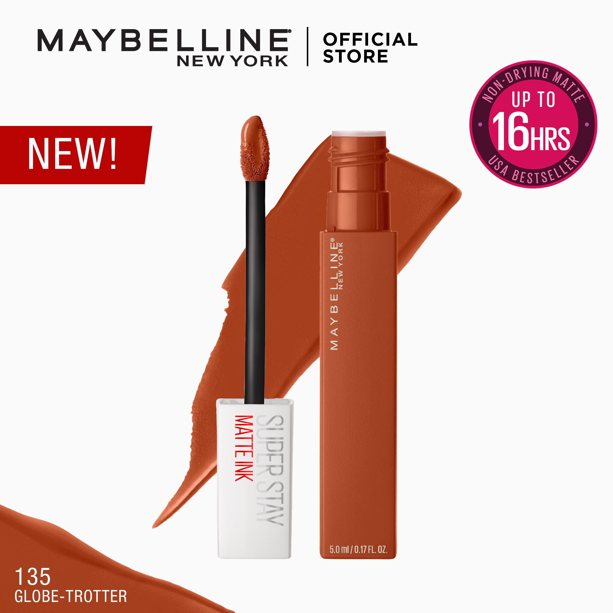 SuperStay Matte Ink City Edition Liquid Lipstick [16HR Waterproof] by Maybelline