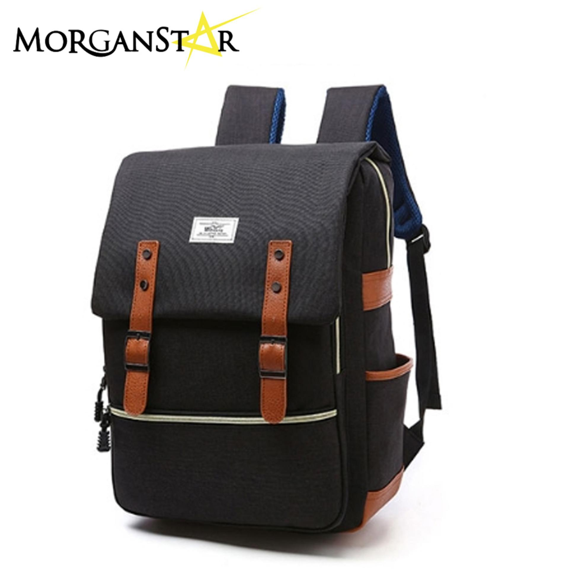 Wowang Unisex Leisure Lightweight Travel Laptop Backpack Men Oxford Cloth Business Backpack (black) By Morganstar Marketing