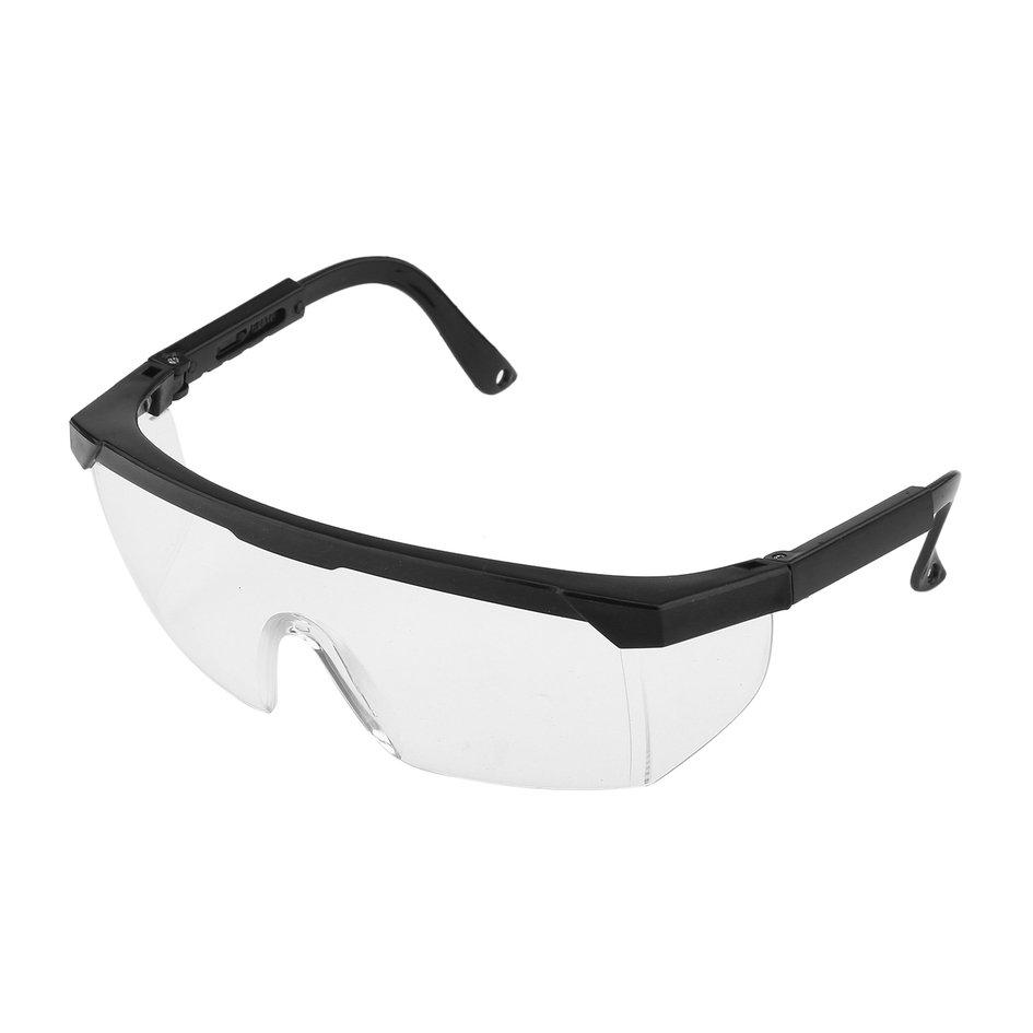 OH New Safety Eye Protection Glasses Goggles Lab Dust Paint Dental Industrial Black