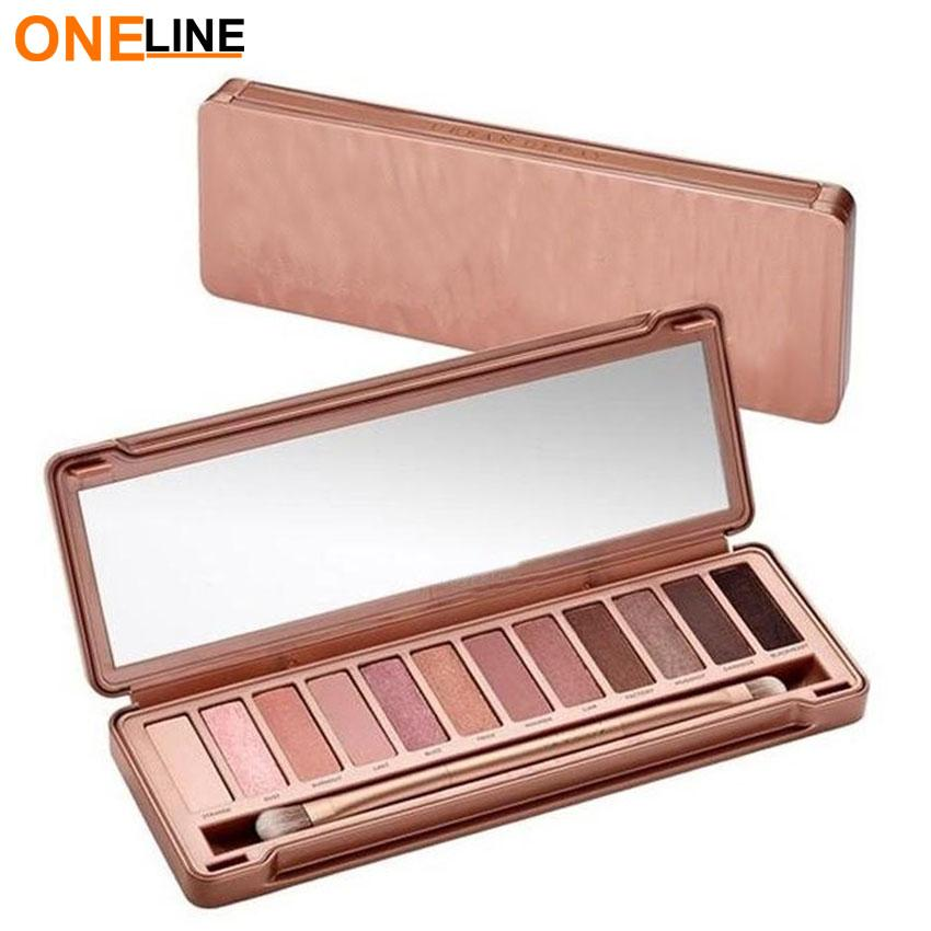 Oneline  N3 12 Earth Tone Shade Eyeshadow Pallete Philippines