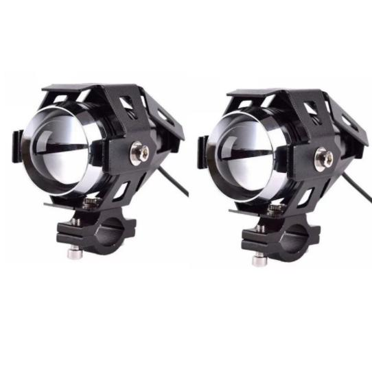 Cree U5 Motorcycle Led Headlight Waterproof High Power Spot Light Set Of 2 By Happy Choice.