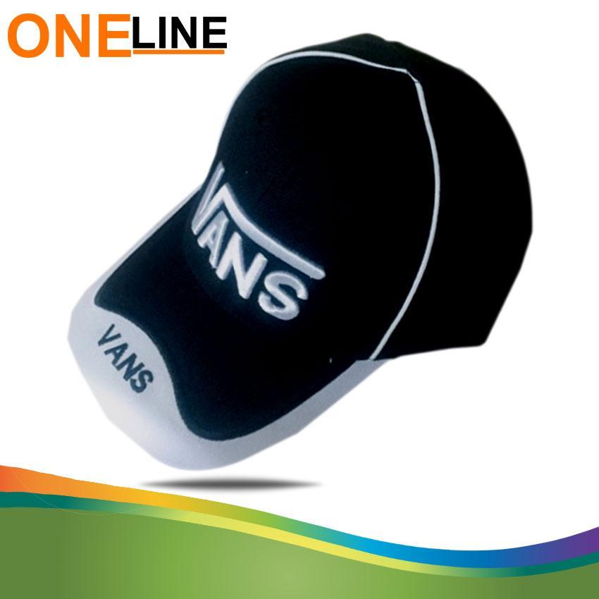 Oneline Vansdesign Baseball Caps Embroidery Black Hip Hop Bone Hats