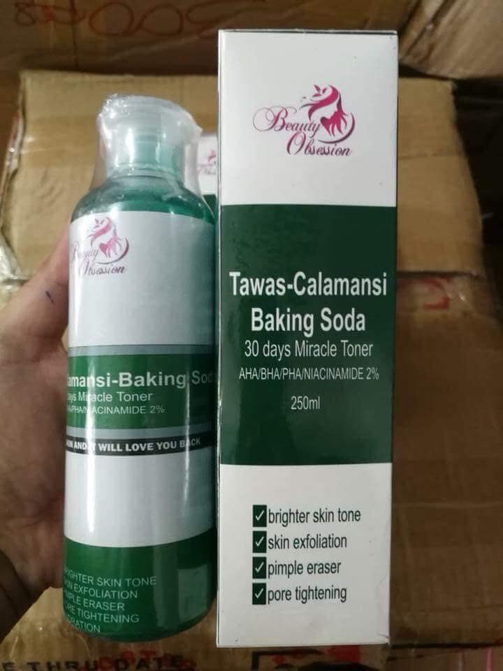 Authentic Tawas-Calamansi With Baking Soda Miracle Toner By Beauty Obsession By Shop Easy Superstore.