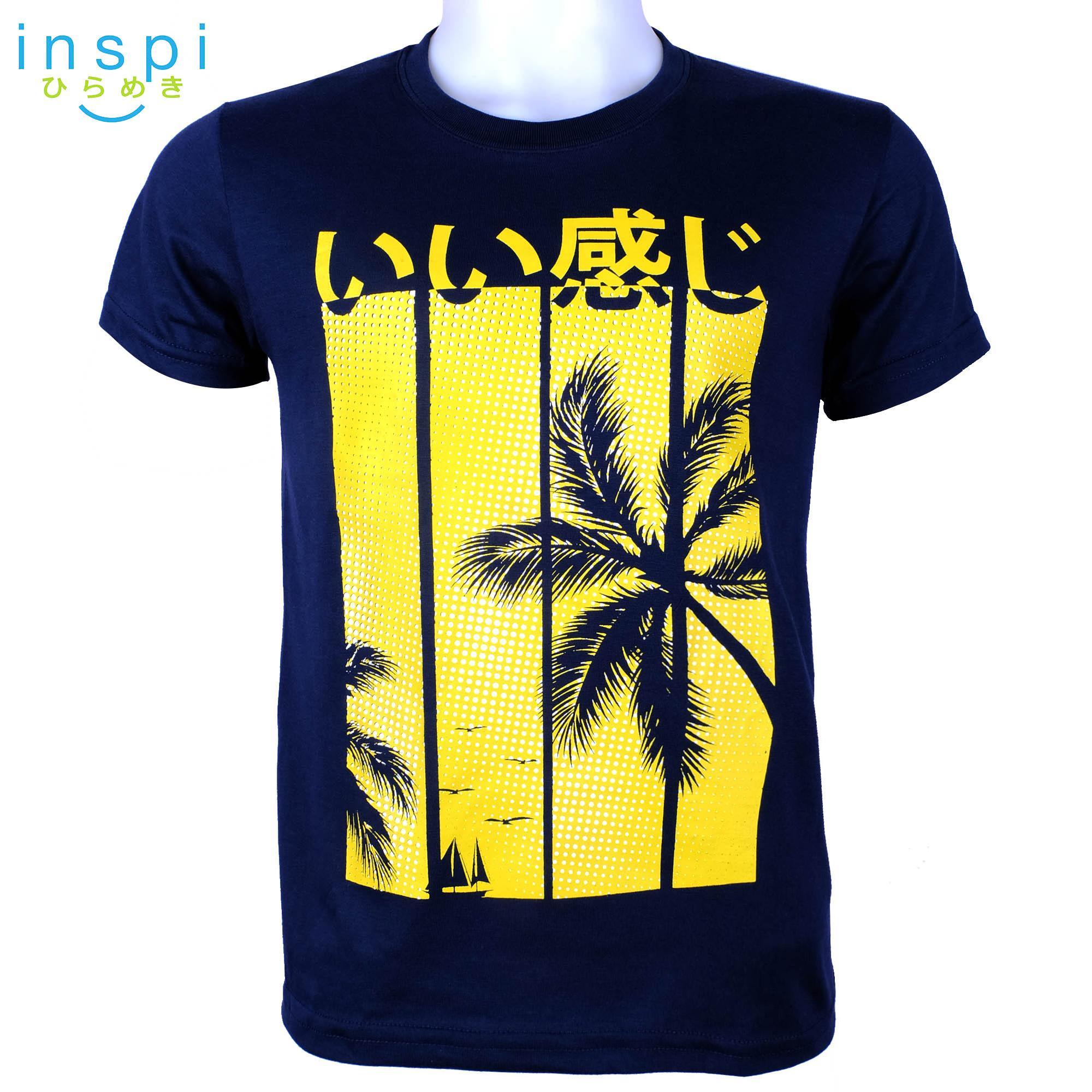 d0917b18ad0 INSPI Tees Coco (Navy Blue) tshirt printed graphic tee Mens t shirt shirts  for
