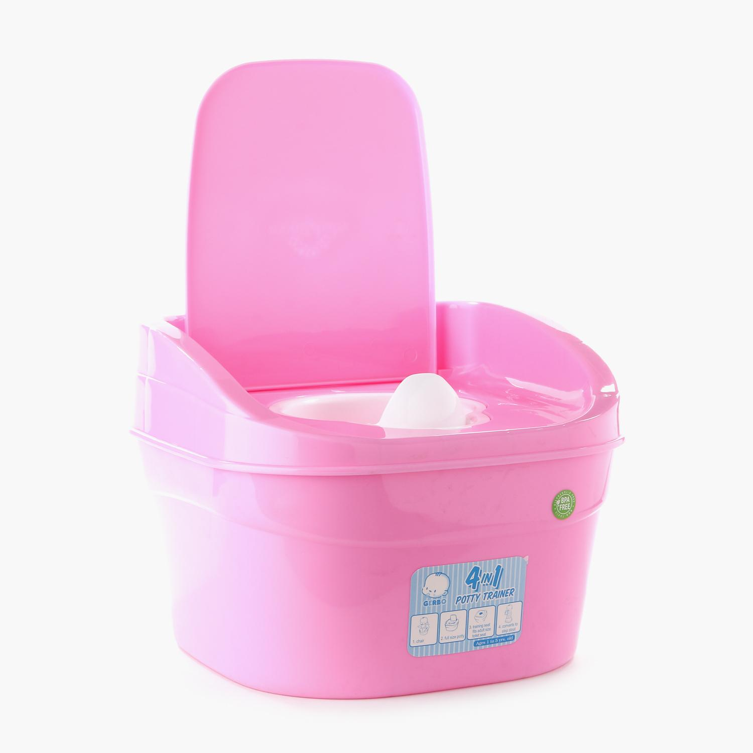 Gerbo 4-in-1 Potty Trainer (Pink)