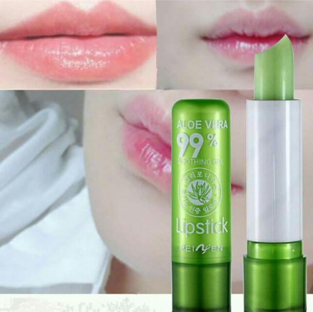 Changing Color Lips 99% ALOE VERA MAGIC LIPSTICK Philippines