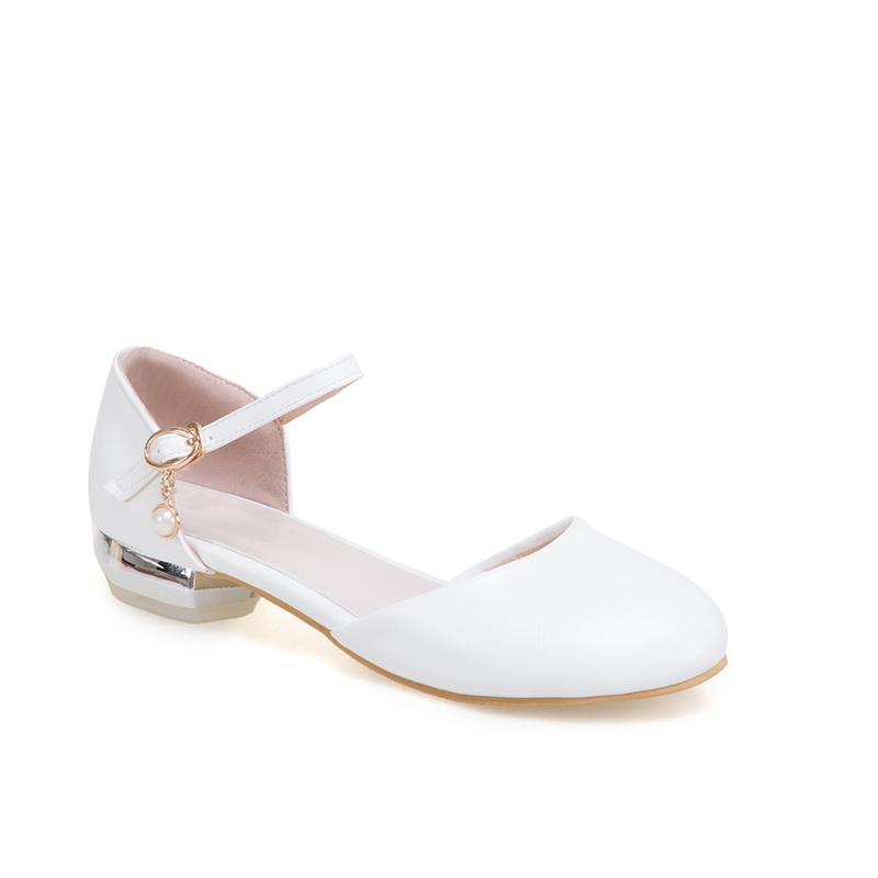 daee98b521014 Sweet Hipster 2018 New Style Closed-toe Low Heel Sandals Leisure ai gen  Students Bjd