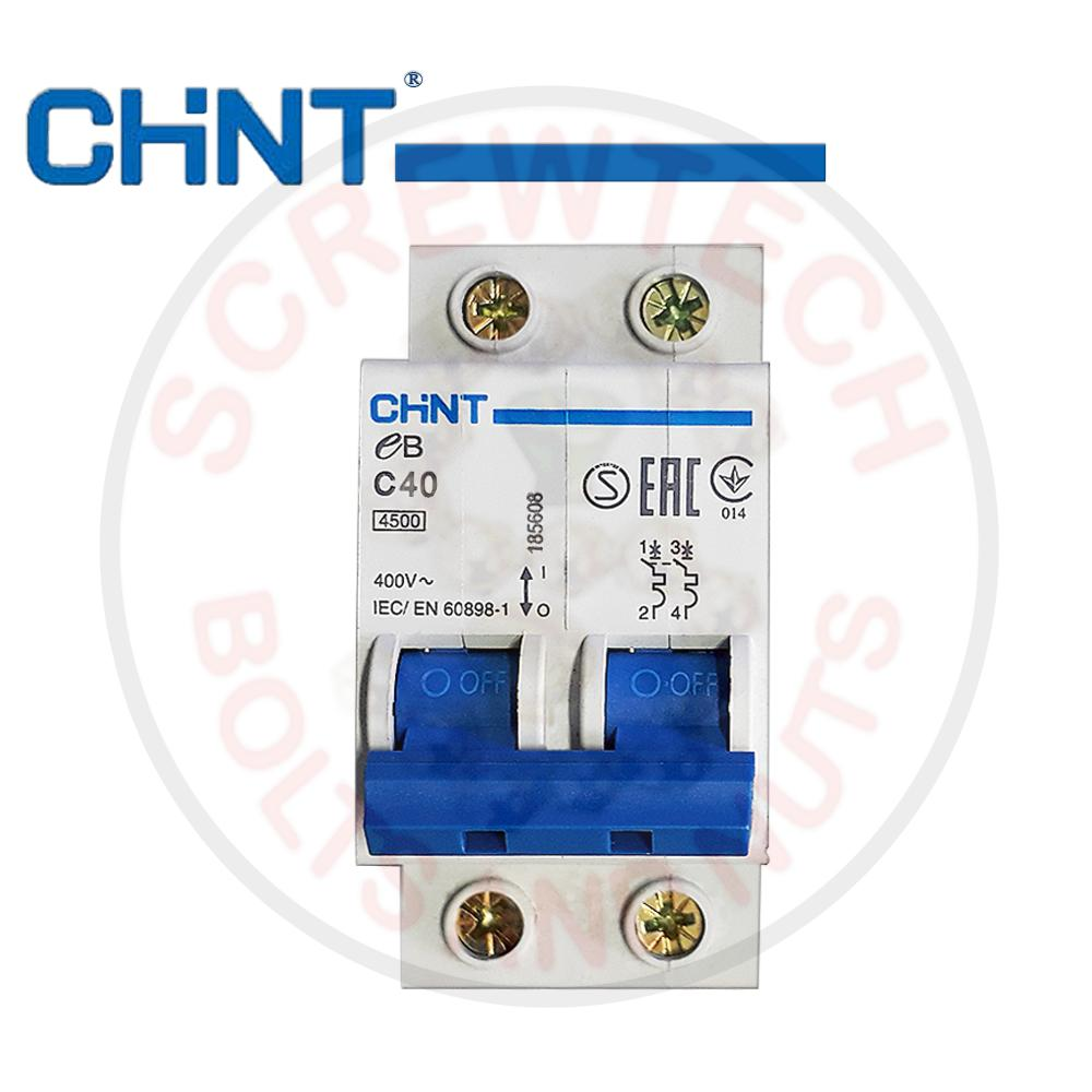 General Electric Philippines Price List House Mcb Circuit Breaker China High Quality Chint Miniature Breakermcb Eb C40