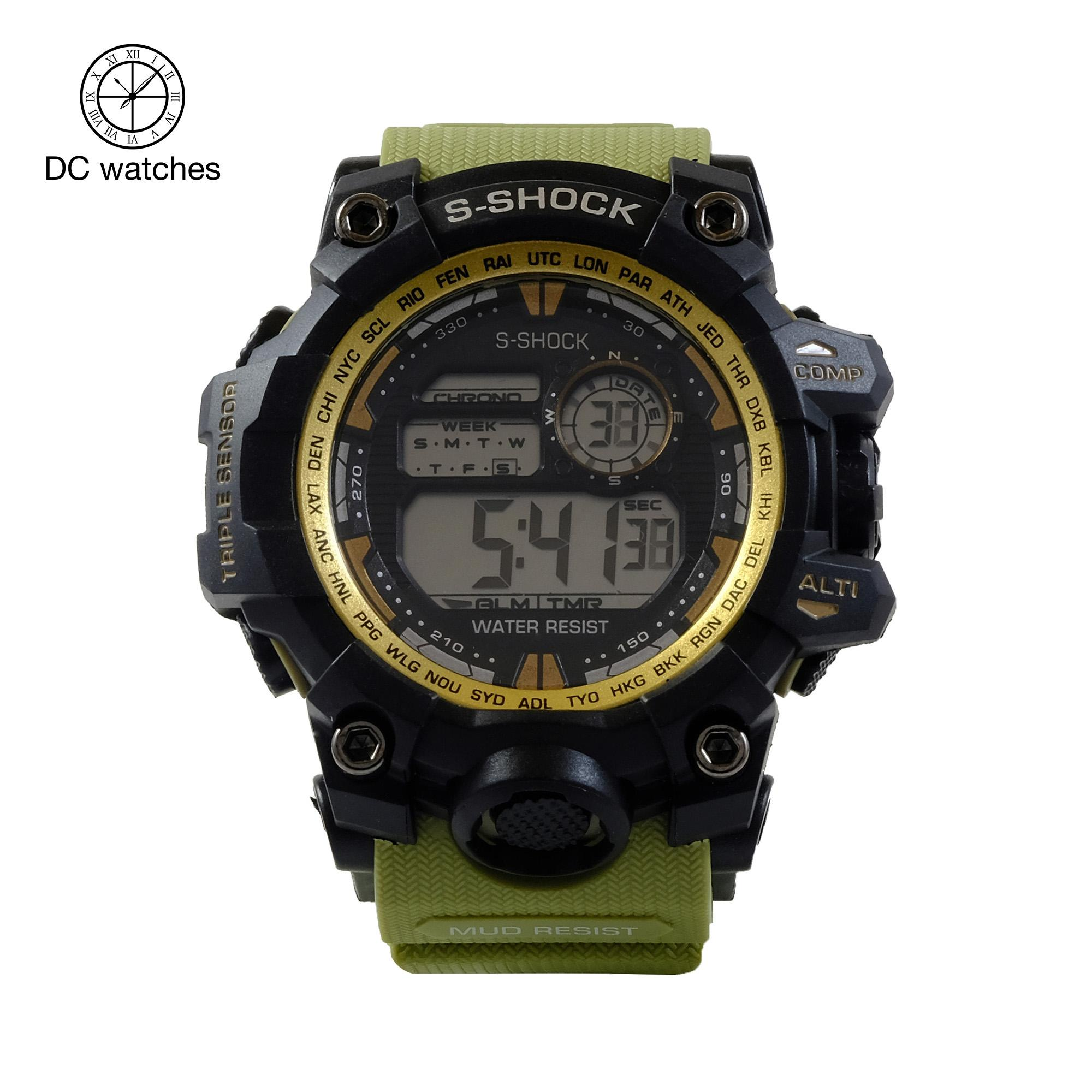 DC Watches watch for men korean fashion sports WATERPROOF digital watch  9977 collection