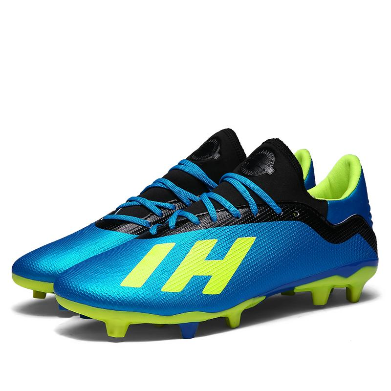 a3361bae9d11 Large Size Men s Football Shoes Classic High Quality 8Colors Short and Long  Nail Men Sports Training