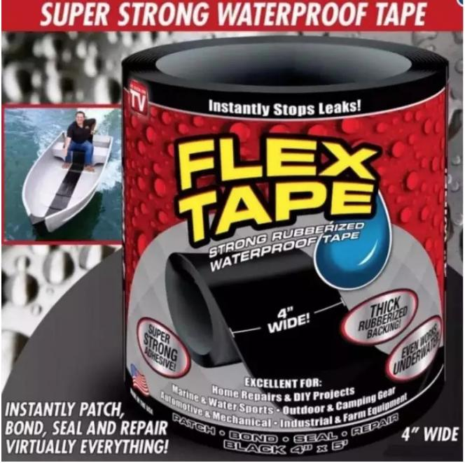 Flex Tape Rubberized Waterproof Tape Strong Rubberized Waterproof Tape By Bodybuy.net.