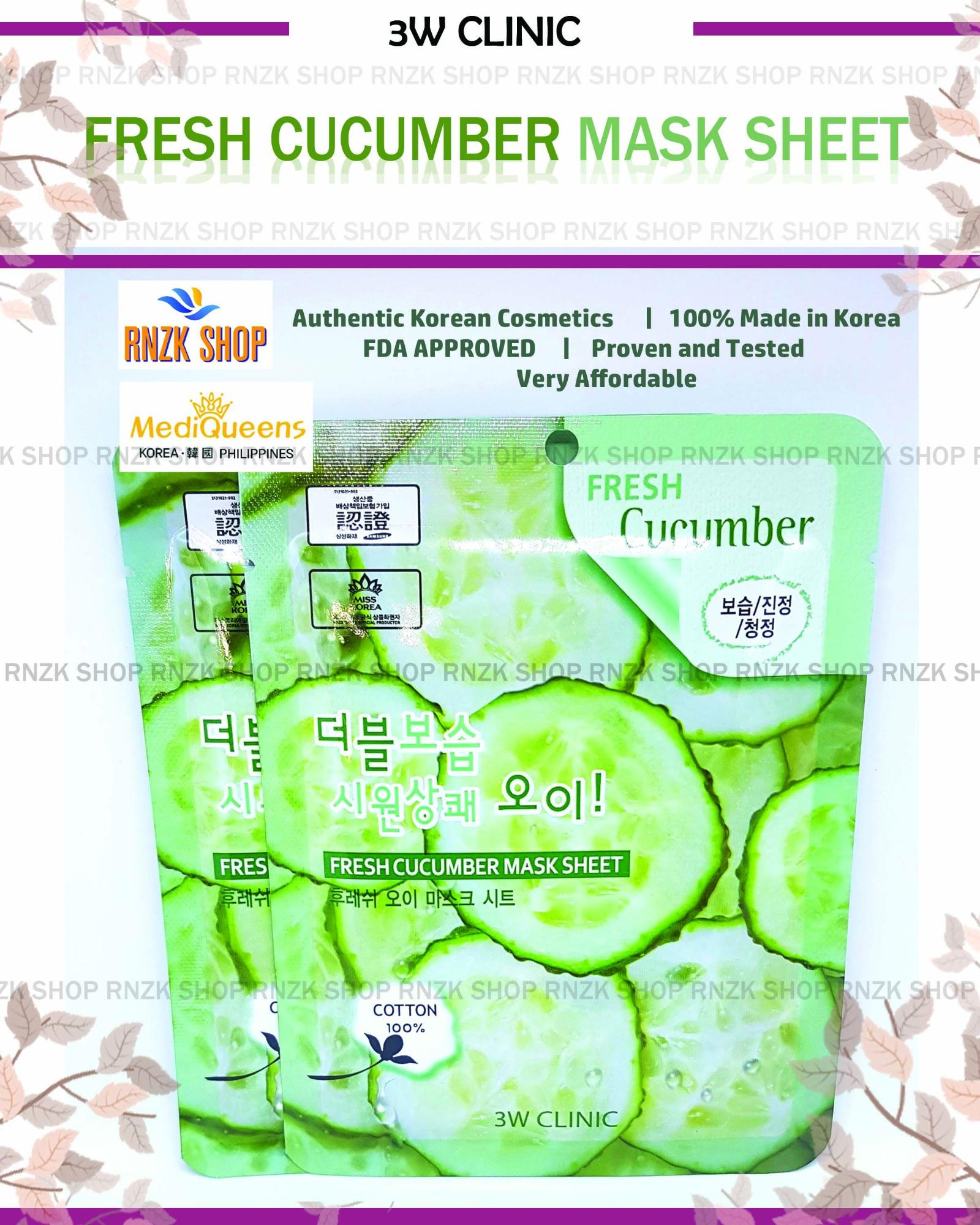 Sell Baroness Cucumber Mask Cheapest Best Quality Ph Store Rorec Sheet Olive Php 40