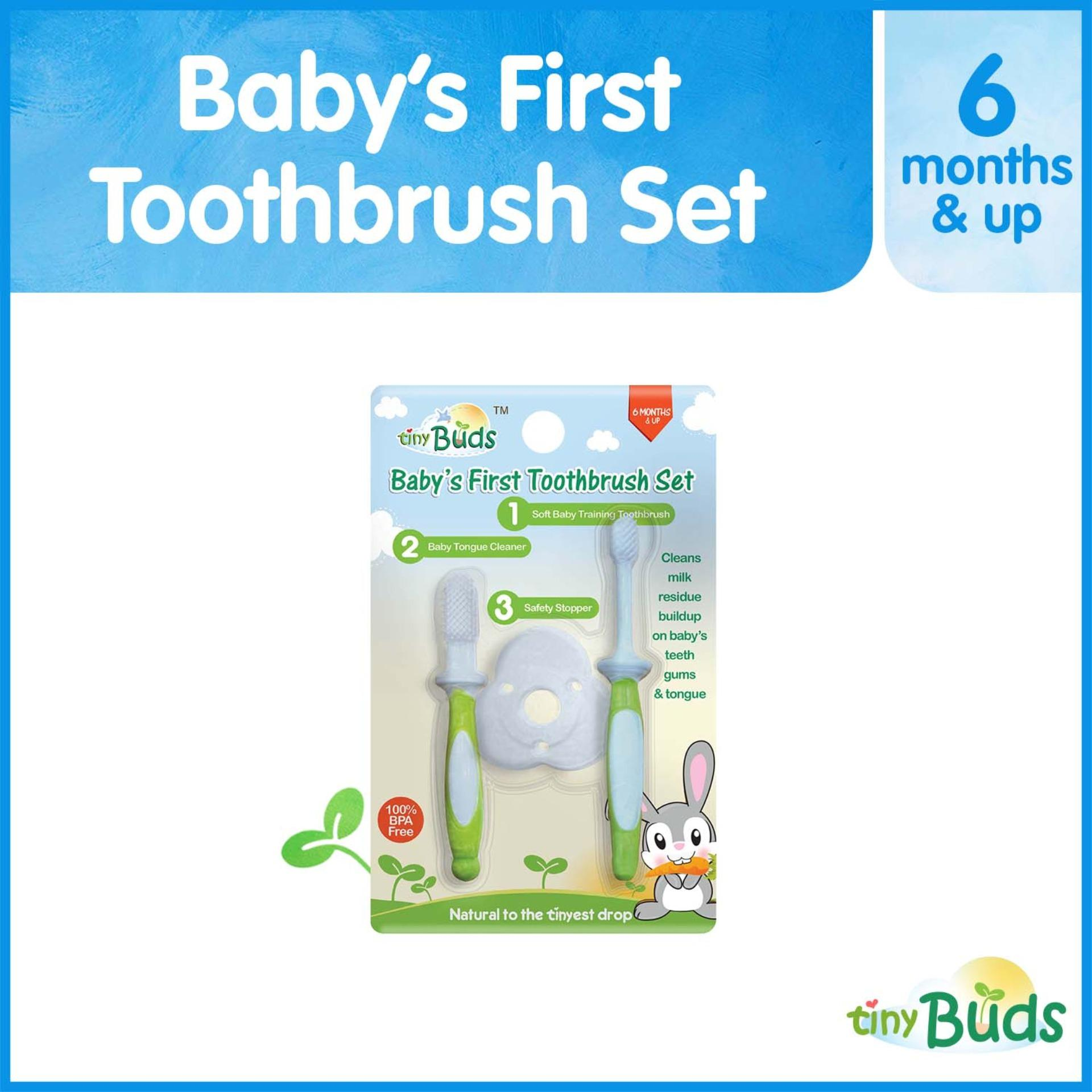 Buy Sell Cheapest Chicco Baby Toothpaste Best Quality Product 360do Tooth Brush For White Tiny Buds Babys First Toothbrush Tongue Cleaner Set 6 Months