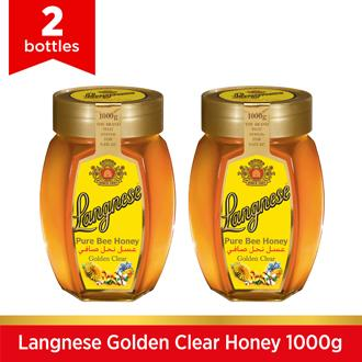 2 Pieces Of Langnese Golden Clear Honey 1000g By Fly Ace Corporation.