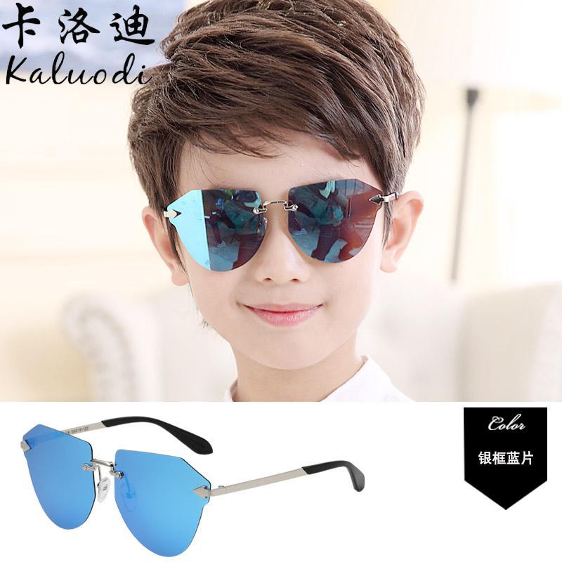 db27c5fad78 Children s Sunglasses Cool girl women boy men Sun Glasses Polarized Light UV  Schick College Style Baby
