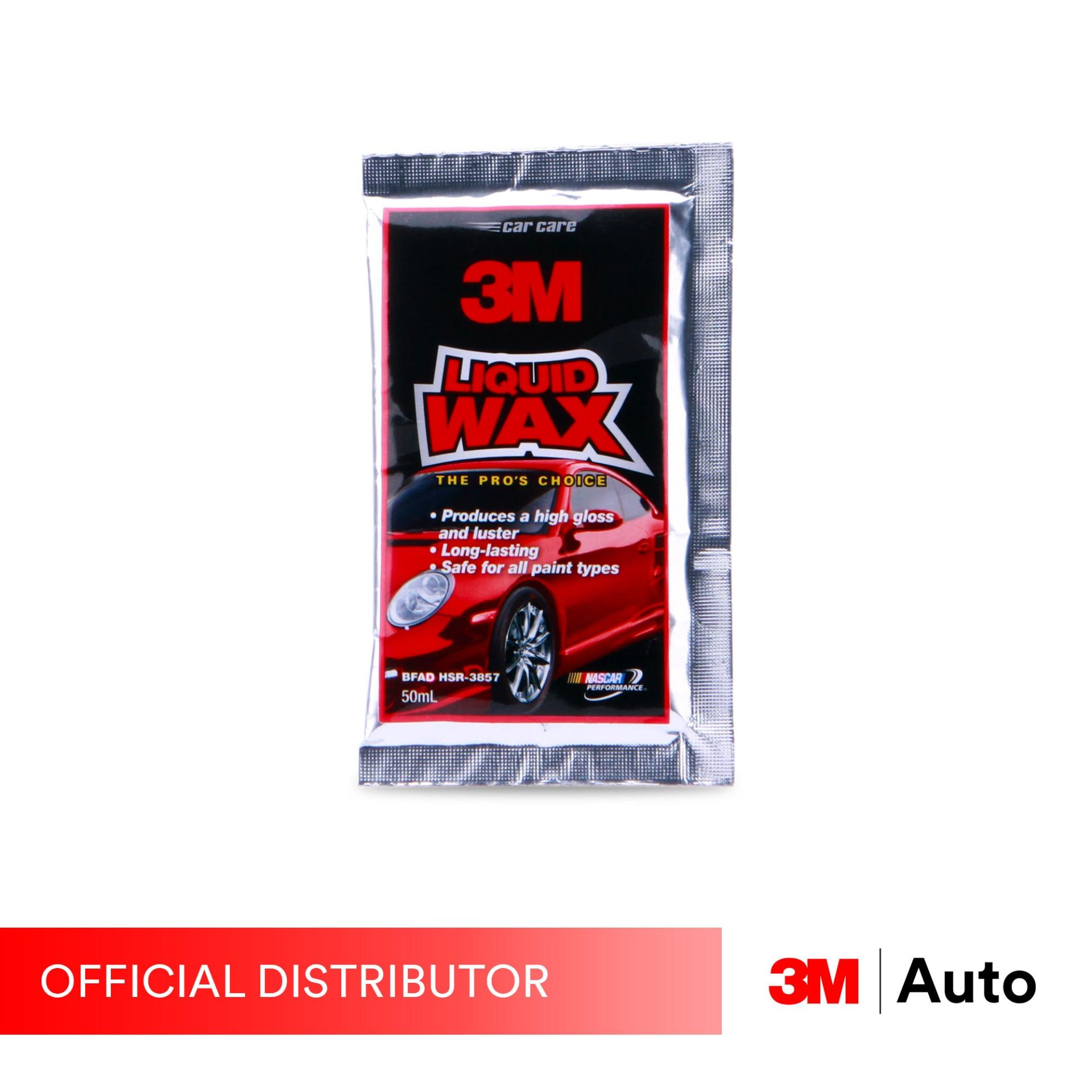 3M CAR CARE LIQUID WAX 50ML SACHET