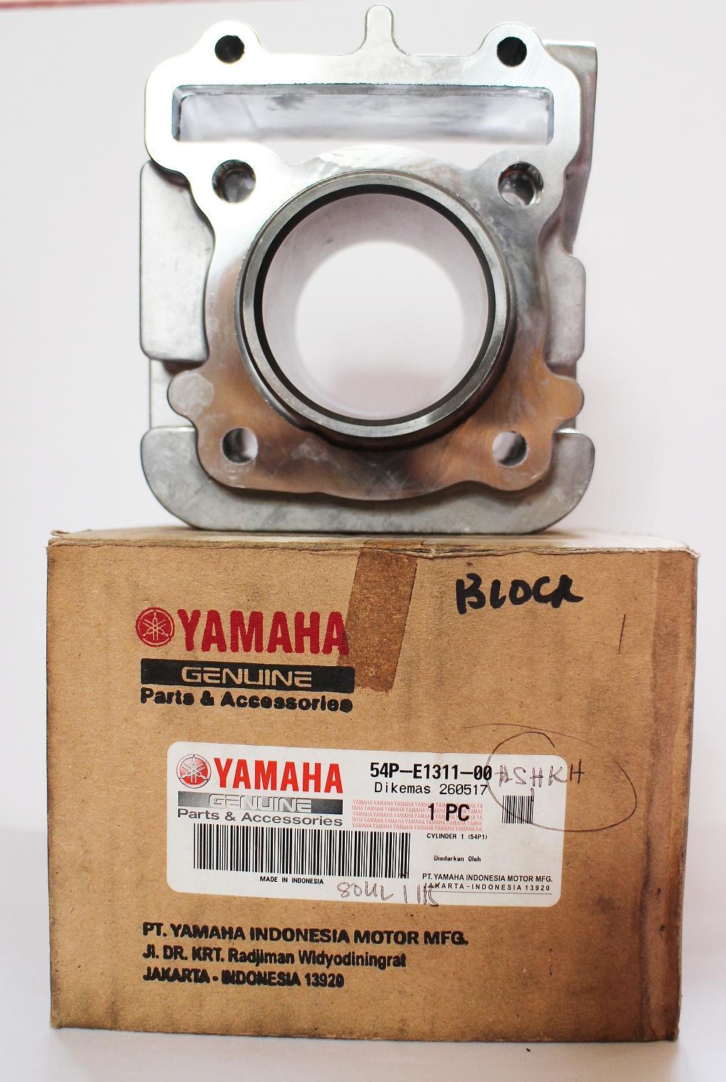 Original Yamaha Cylinder Block For Mio Soul I 115 By Jca Motorshop.