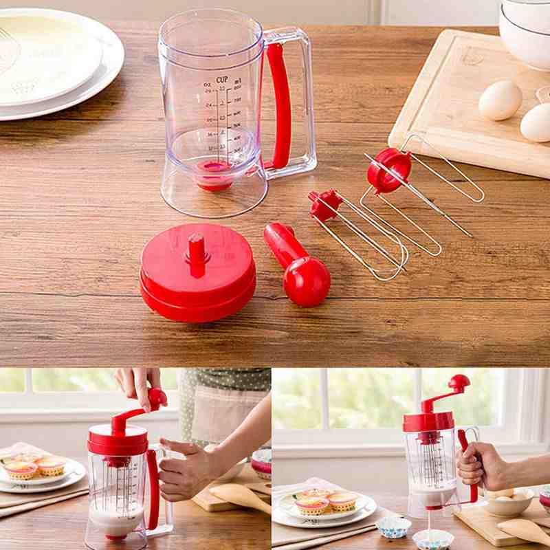 Luckyhome Manual Pancake Machine Mixes & Dispense By Luckyhome.